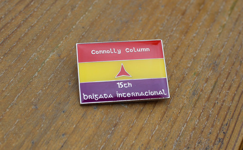 Connolly Column International Brigade Badge