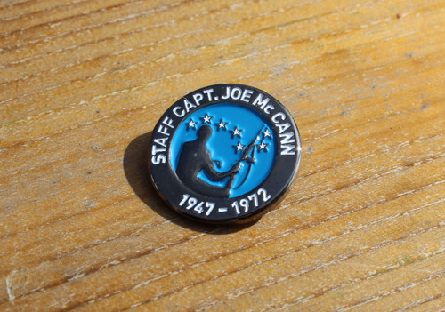Staff Captain, Joe McCann 3D badge
