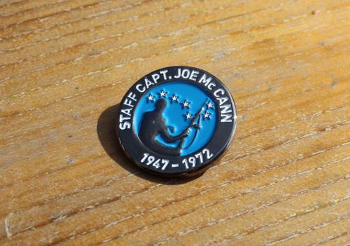 Staff Captain, Joe McCann 3D badge
