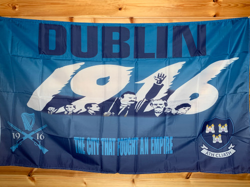 Dublin 1916 The City That Fought An Empire flag size 5 x 3