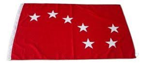RED Starry Plough flag