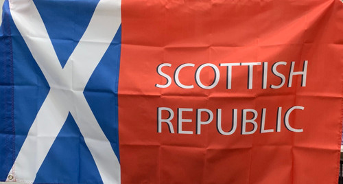 Scottish republic 5 x 3 polyester flag