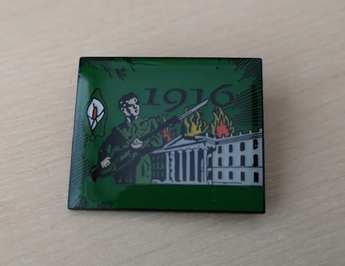 Easter Rising 1916 enamel badge