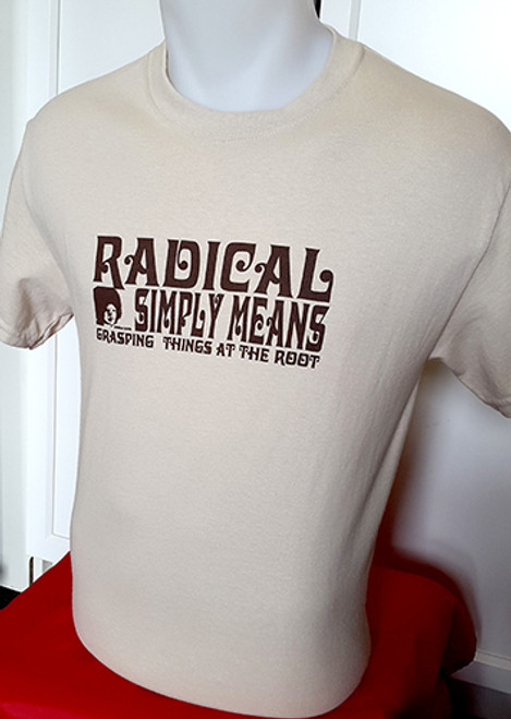 "Angela Davis ""Radical Simply Means.."" t-shirt"