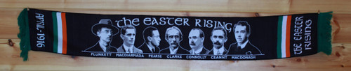 EASTER RISING BLACK SCARF