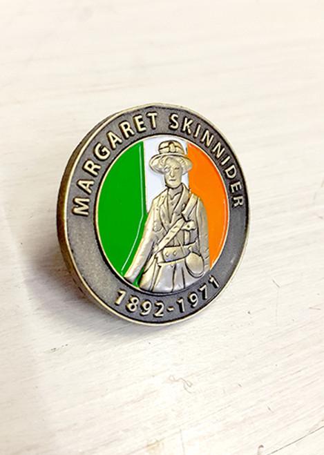 Margaret Skinnider 3D Enamel (tricolour) Badge