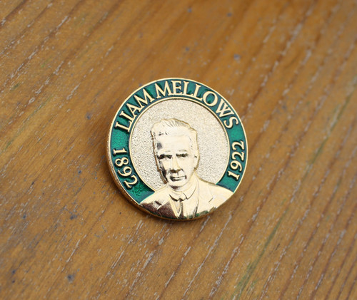 Liam Mellows 3D enamel badge