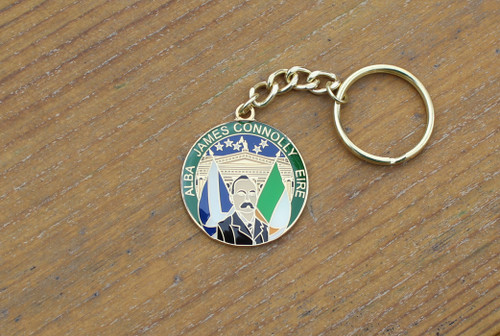James Connolly Alba Eire keyring