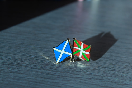 Scottish Solidarity with the Basque Country Badge