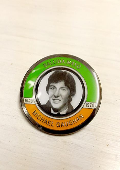 Michael Gaughan Hunger Striker Commemorative Badge