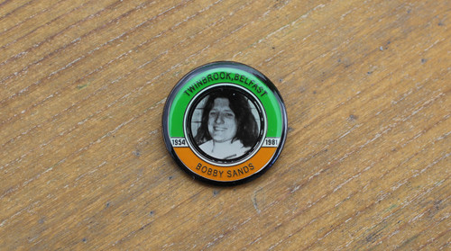Bobby Sands Hunger Strike Commemorative badge
