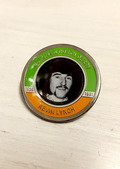 Kevin Lynch Hunger Striker Commemorative Badge