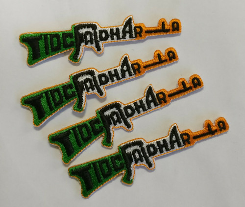 Tiocfaidh Ar La 100% embroidered patch, can be ironed on.