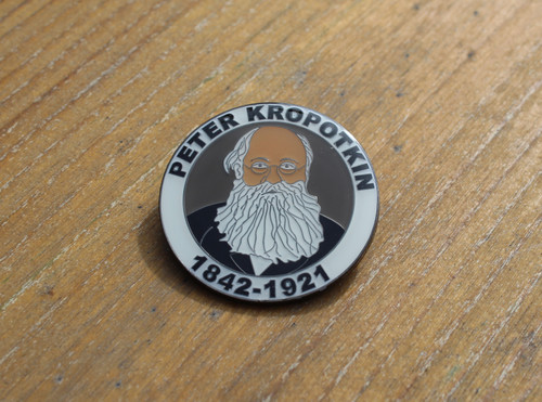 PETER KROPOTKIN enamel badge 32 mm
