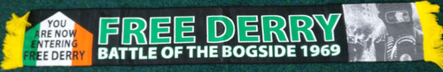 FREE DERRY BATTLE OF THE BOGSIDE 1969 HD scarf