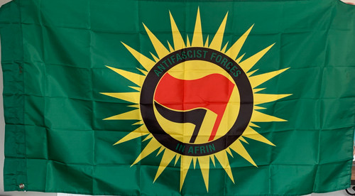 Anti Fascist Forces in Afrin  flag