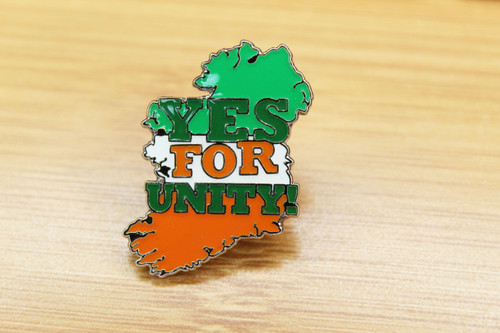 YES FOR UNITY! ENAMEL BADGE