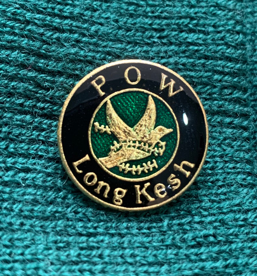 POW Long Kesh original enamel badge 15 mm