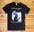 Joe McCann- They May Kill The Revolutionary two colour hand screen printed black t-shirt