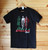 Bella Ciao Italian Resistance (Antifascist) four colour hand screen printed black t-shirt