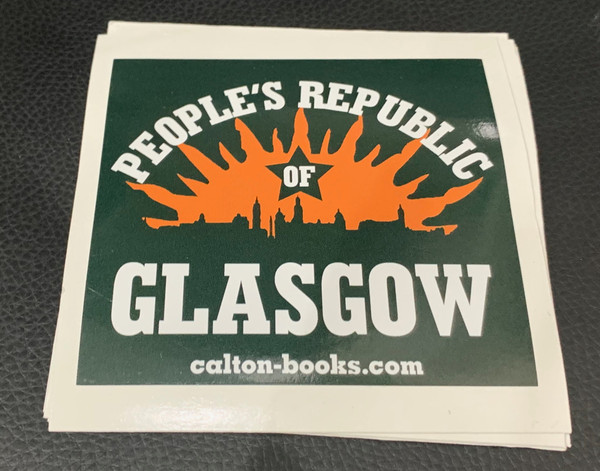 PEOPLE'S REPUBLIC OF GLASGOW 20 vinyl stickers