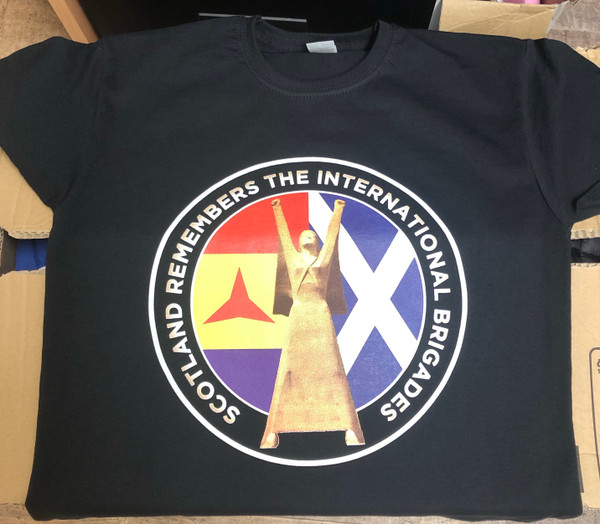 Scotland Remembers the International Brigades t-shirt