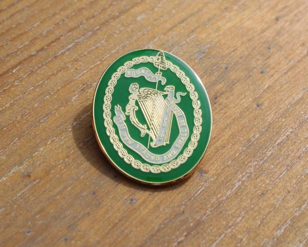 United Irishmen enamel badge