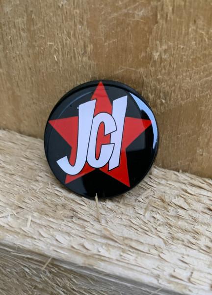 JCI - POUM YOUTH ENAMEL BADGE size 30 mm