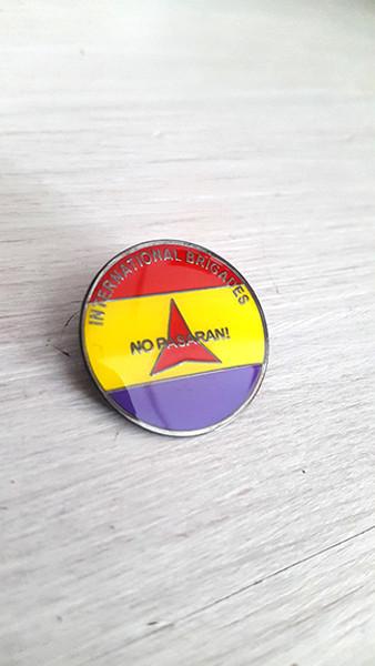 No Pasaran-International Brigade badge