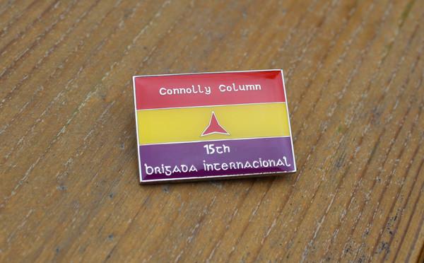 Connolly Column International Brigade Badge