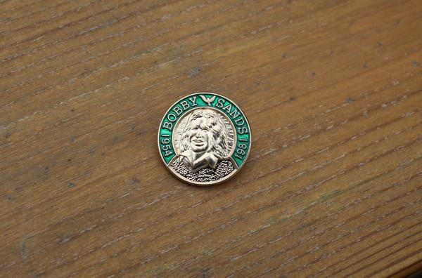 Original Bobby Sands 3D enamel badge