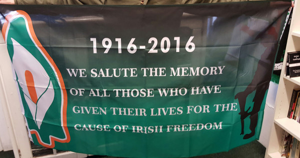 Easter Lily commemoration flag