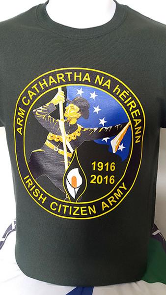 Arm Cathartha na hEireann / Irish Citizen Army Easter Rising Centenary T-Shirt