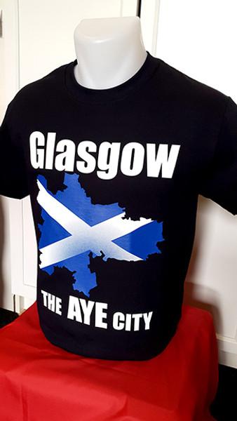 "Glasgow ""The Aye City"" t-shirt"