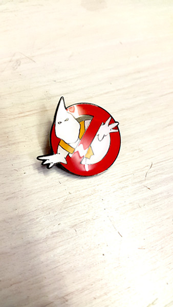 No Sectarian Marches (Ghostbusters) Badge