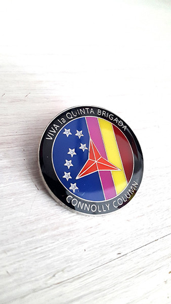 Viva la Quinta Brigada - Connolly Column Badge