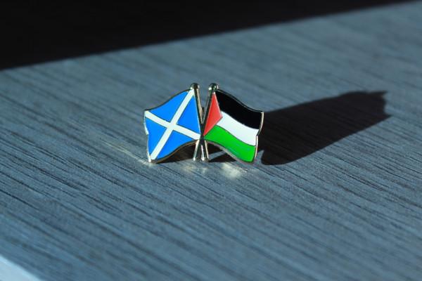 Scottish Solidarity with Palestine Badge