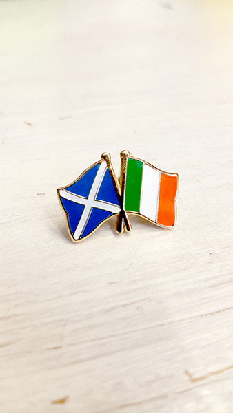 Scottish Solidarity with the Irish Republic Badge