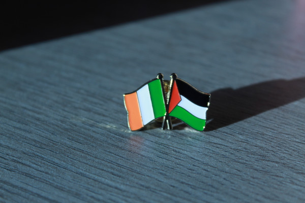 Ireland / Palestine Solidarity Badge