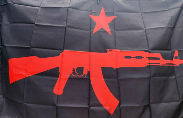 International Revolutionary People's Guerrilla Forces (IRPGF) Flag