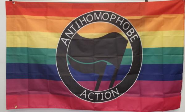 Anti Homophobe Action flag
