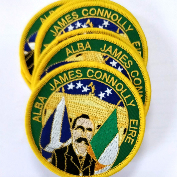 James Connolly ALBA - EIRE Iron on embroidered patch