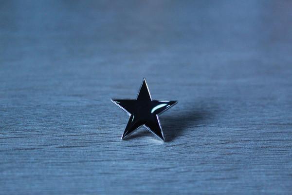black anarchist star