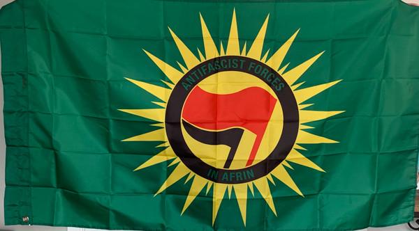 Anti Fascist Forces in Afrin  flag