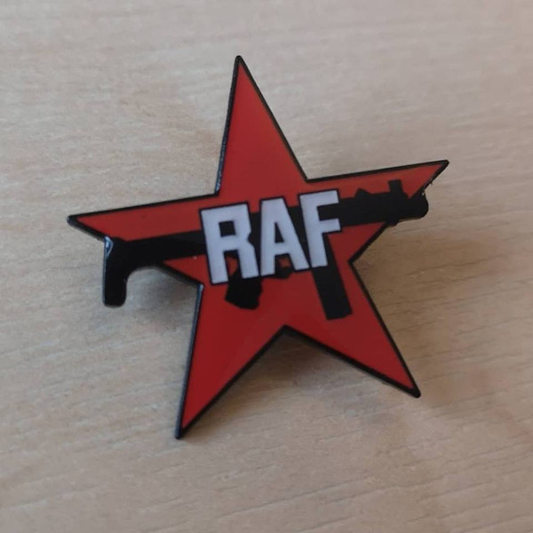 Red Army Faction enamel badge