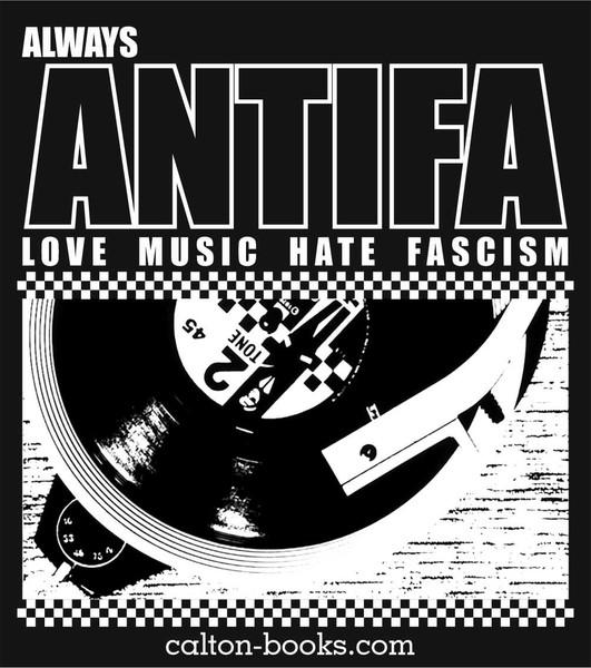 20 Love Music Hate Fascism 2 Tone stickers