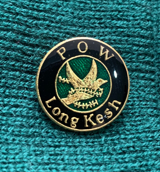POW Long Kesh original enamel badge 15 mm