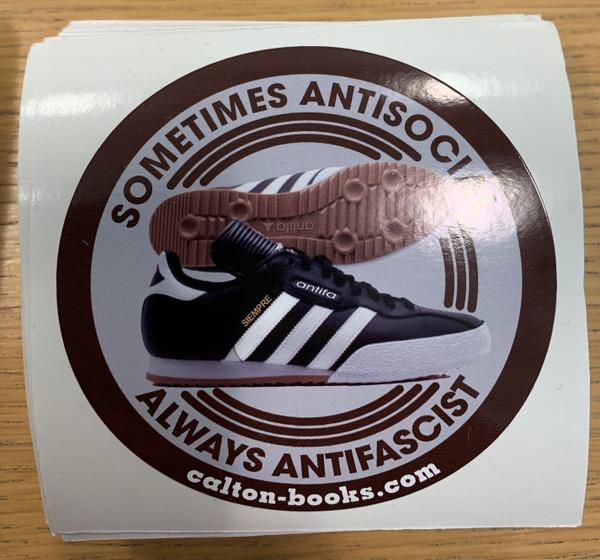 Samba ANTIFA vinyl stickers