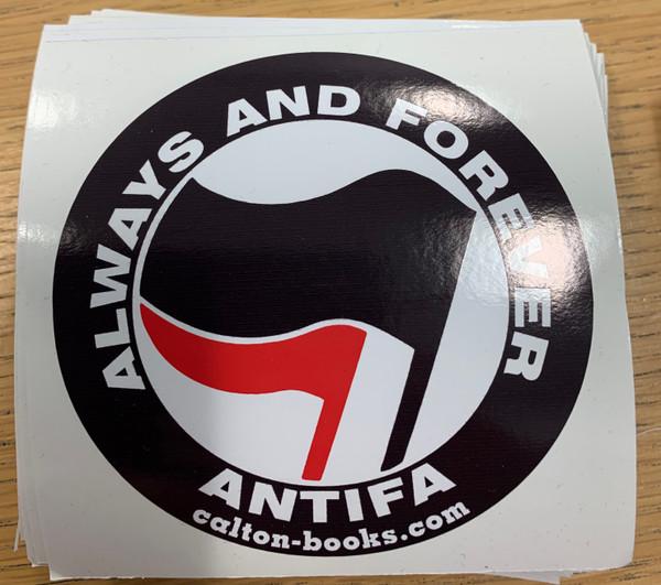 Always & Forever ANTIFA vinyl stickers