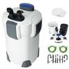 3-Stage Aquarium External Canister Filter 265 GPH for Fresh/Salt Water 100 Gal